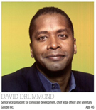 david drummond, google, gc, legal marketing, law firm marketing